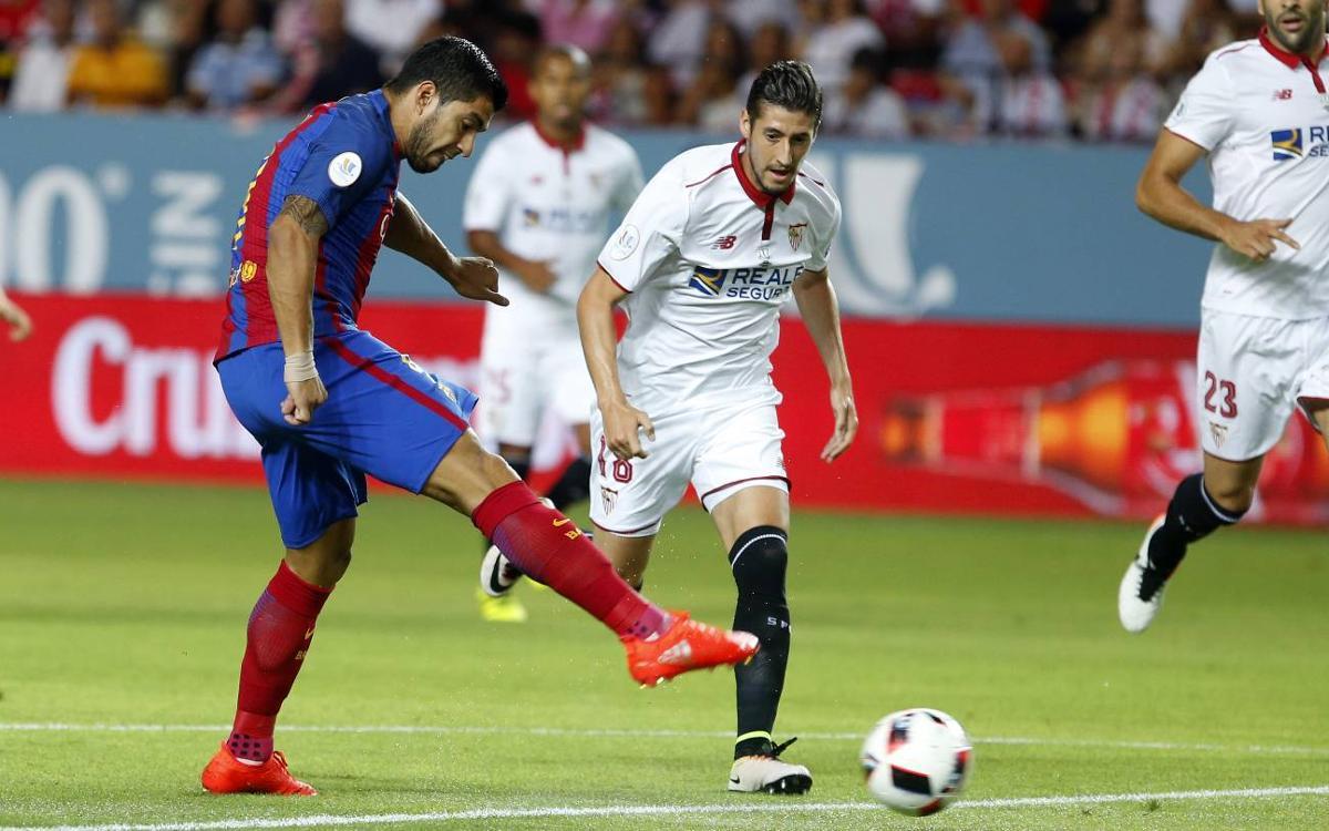 El Sevilla FC serà el rival a la Supercopa d'Espanya