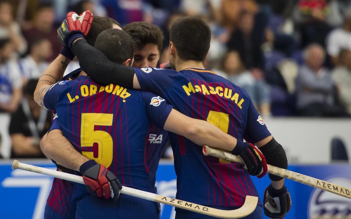 Reus Deportiu - Barça Lassa: Qualified for the final of the European League! (2-4)