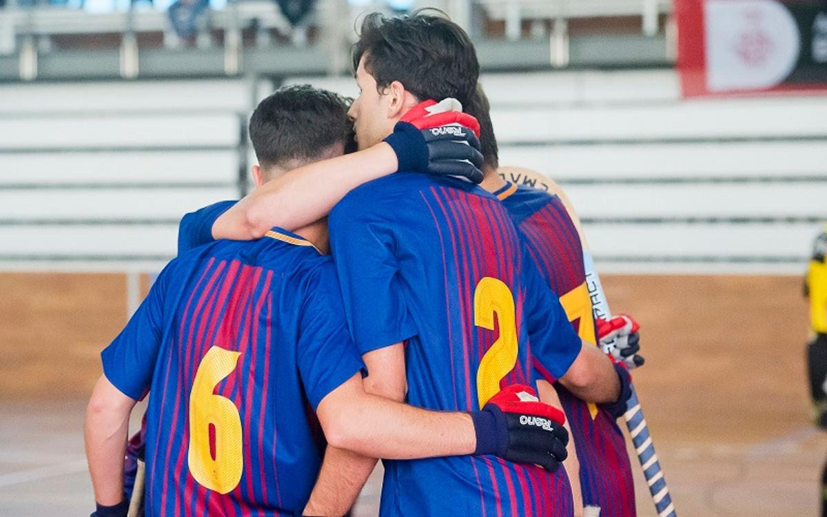 Barça Lassa B - CP Congrés (6-4): Triunfo y playoff de ascenso