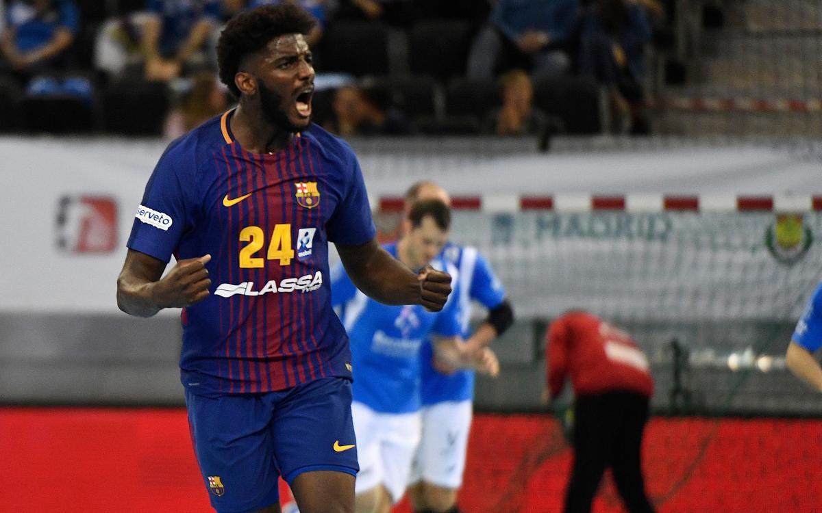 FC Barcelona Lassa – Atlètic Valladolid: El campió demostra el seu caràcter (34-30)