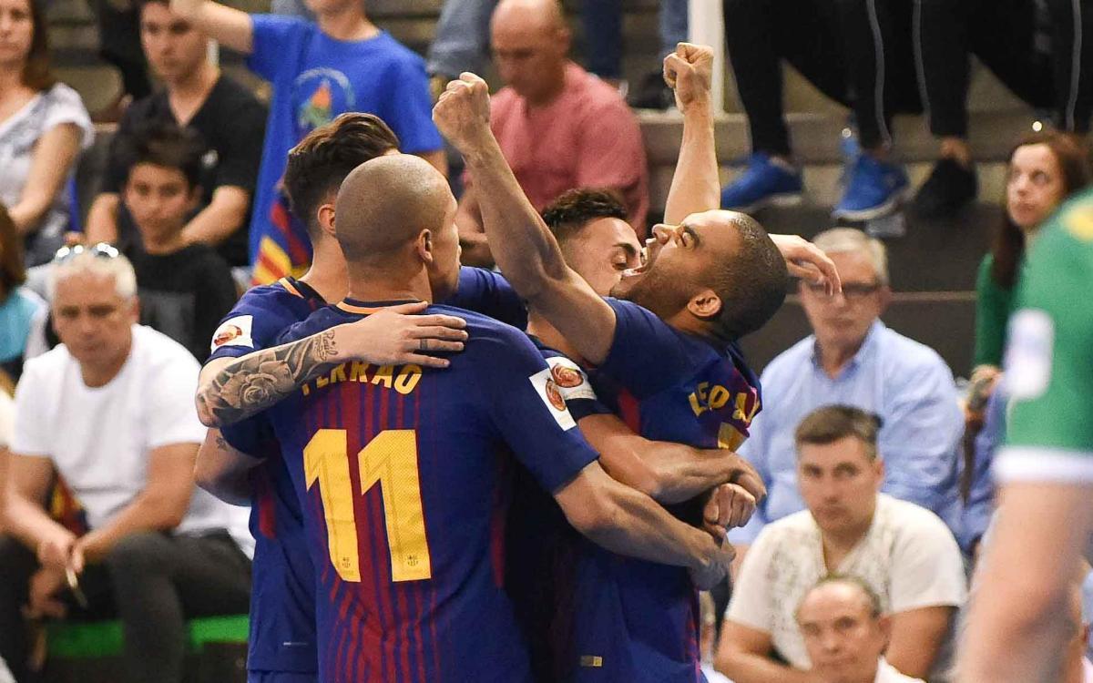 FC Barcelona Lassa – Jaén: Campions de Copa! (4-3)