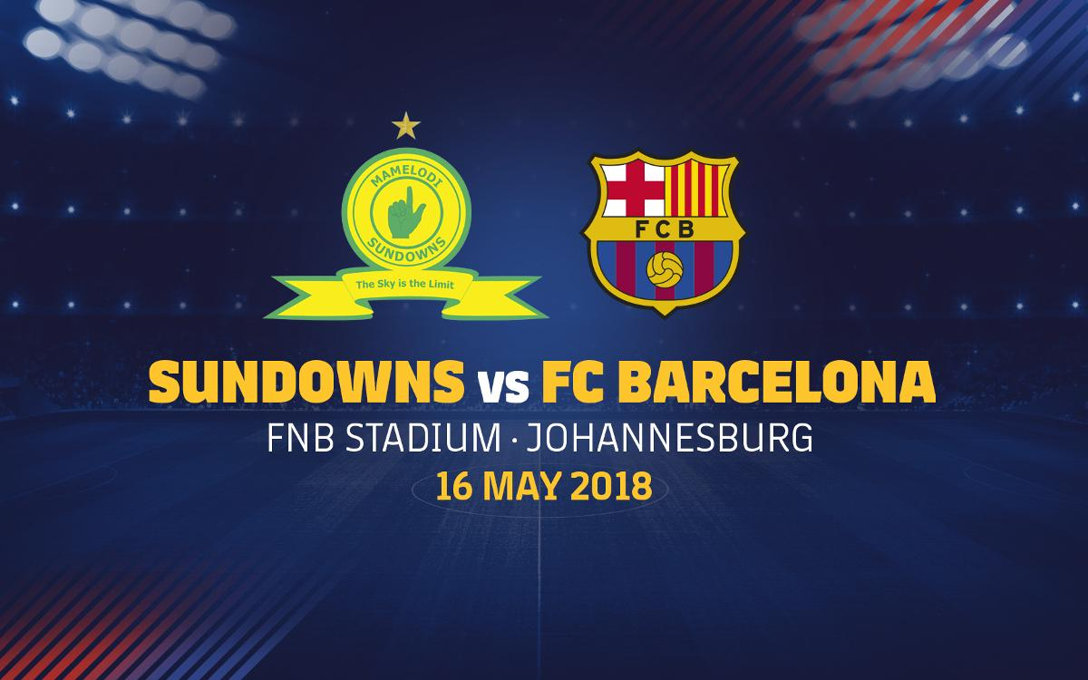 Barça to play in the Mandela Centenary Cup in South Africa on May 16