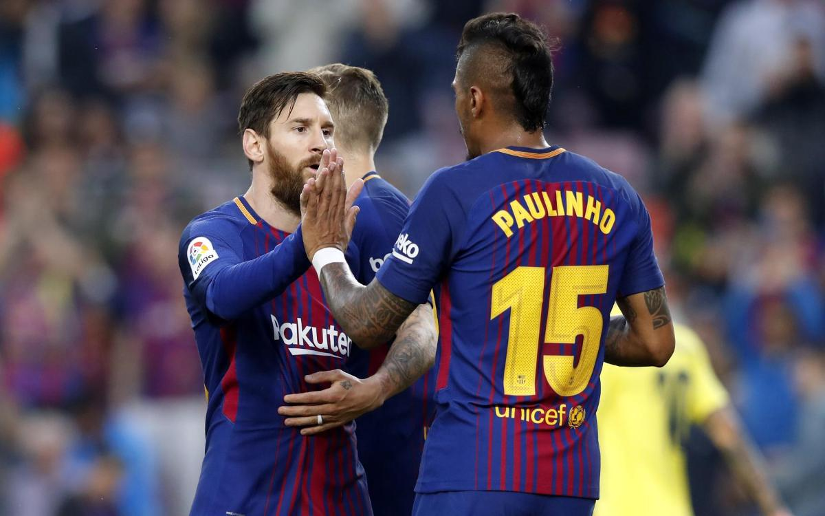 HIGHLIGHTS: FC Barcelona vs Villarreal