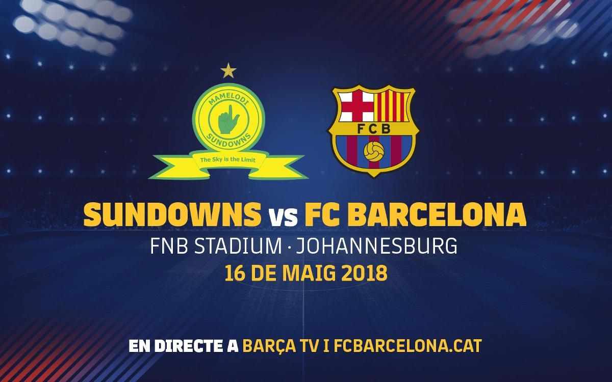 El Barça jugarà un amistós a Sud-àfrica el 16 de maig en el marc dels actes del centenari del naixement de Nelson Mandela
