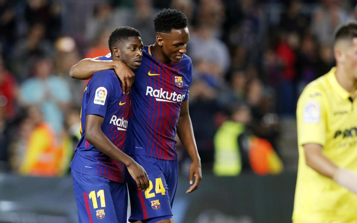 Dembélé turns in top performance against Villarreal
