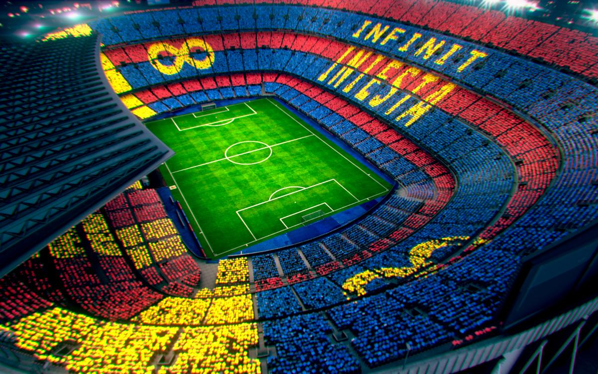 The Andrés Iniesta farewell mosaic