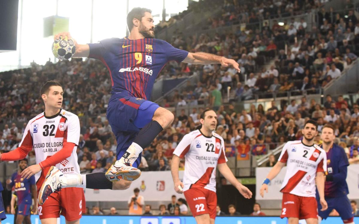 FC Barcelona Lassa - BM Logroño La Rioja: ¡Campeones de Copa! (35-28)
