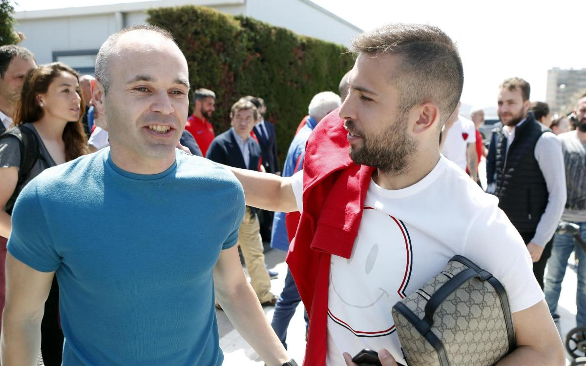 A different view of Andrés Iniesta's goodbye