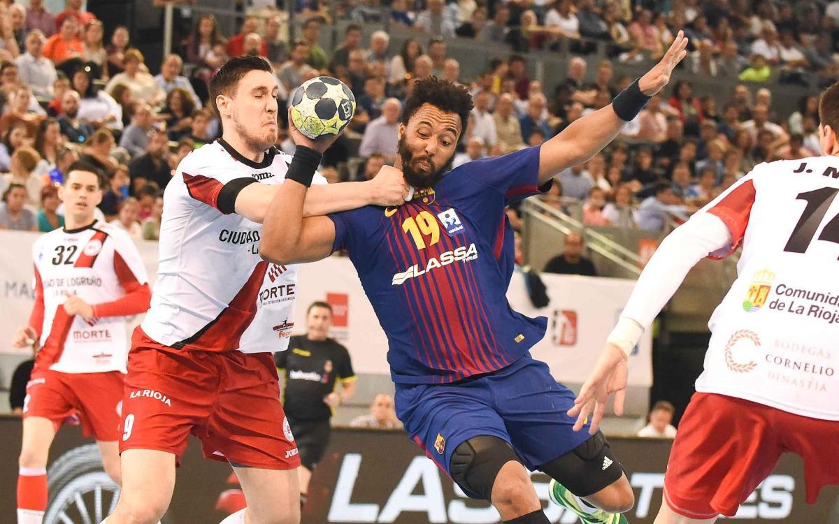 Cinc finals contra el Logroño en quatre temporades
