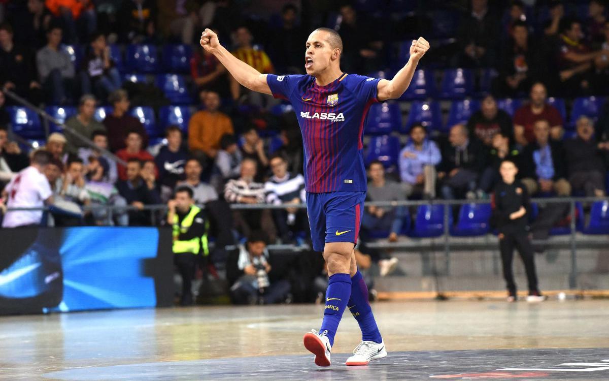 Ferrao bat el seu rècord golejador al Barça amb 40 gols