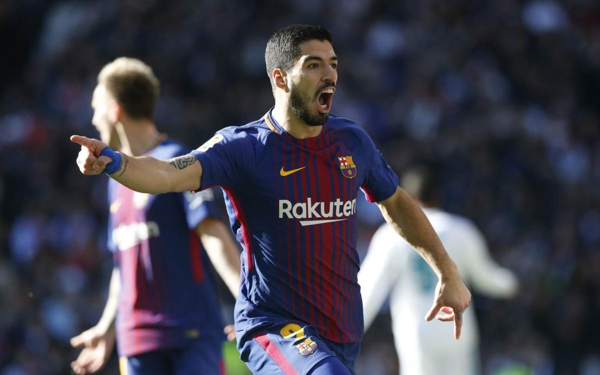 """Luis Suárez: """"Jugar un Clàssic sempre és especial"""""""