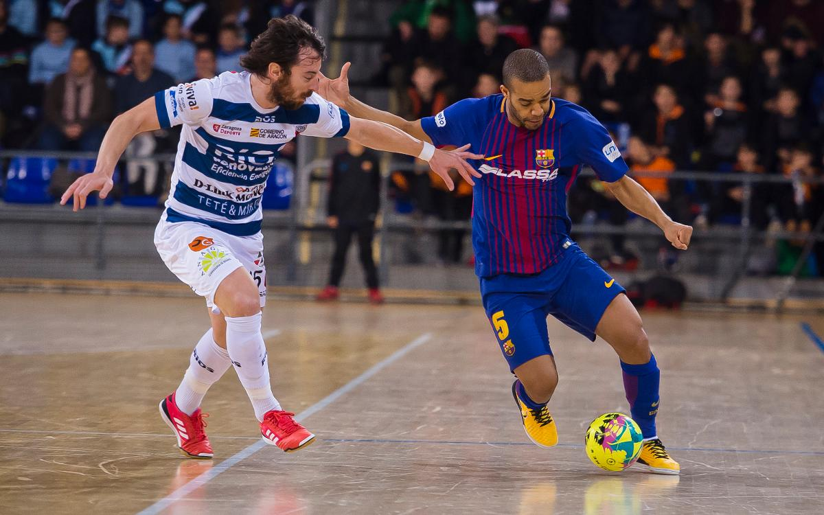 Play-off inédito contra Ríos Renovables Zaragoza