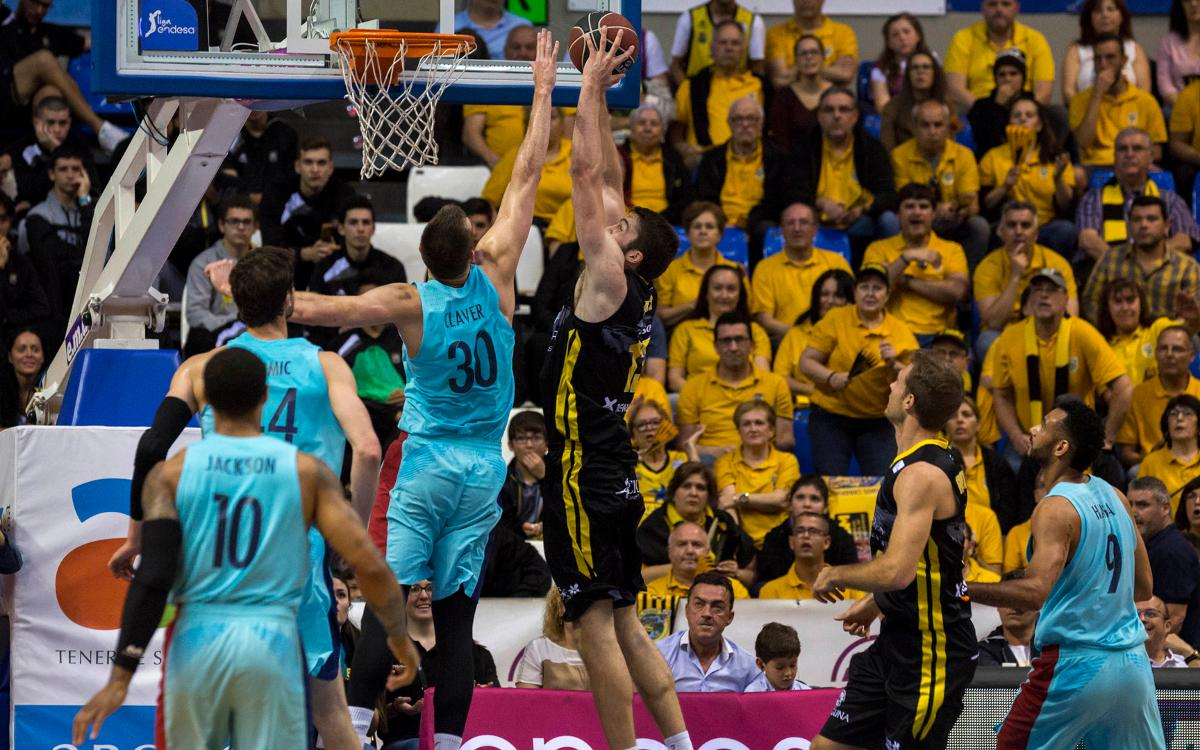 Iberostar Tenerife – FC Barcelona Lassa: Defeat in tough away trip (86-81)