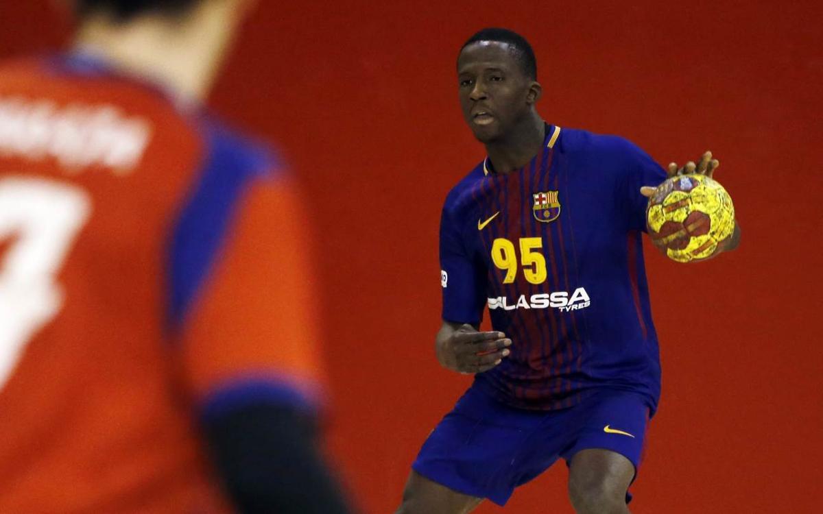 Barça Lassa B - BM Villa de Aranda (22-15): Triomf en el darrer partit a la Ciutat Esportiva