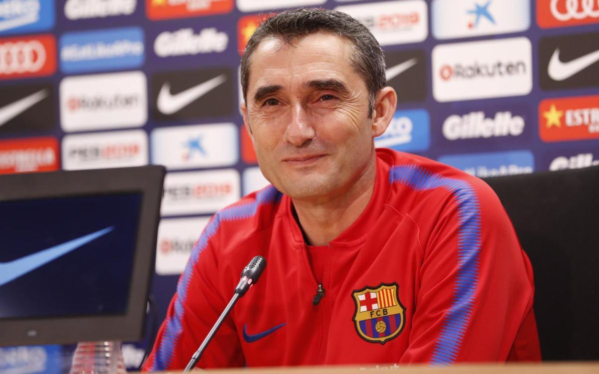 """Ernesto Valverde: """"El Llevant ha fet uns números increïbles en les darreres jornades"""""""