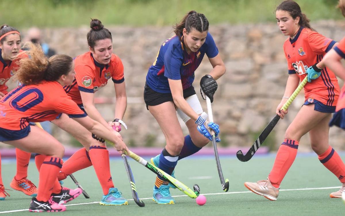 El femení suma un punt davant la Reial Societat i aconsegueix la permanència a falta d'una jornada