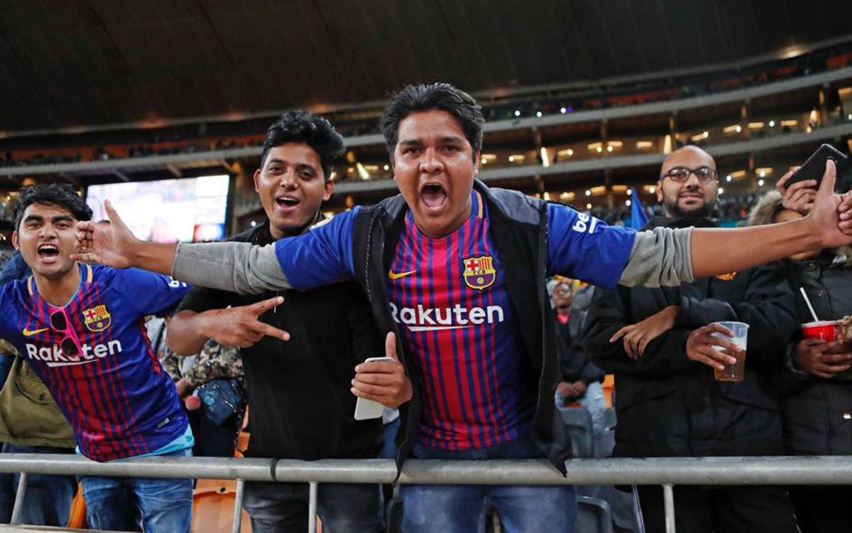 Johannesburg welcomes Barça to South Africa
