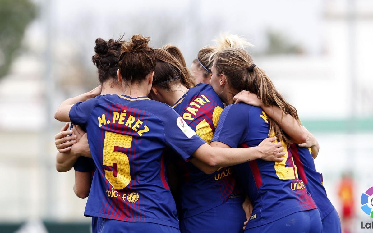 Real Betis v Barça Women: Victory in Andalucia (0-2)