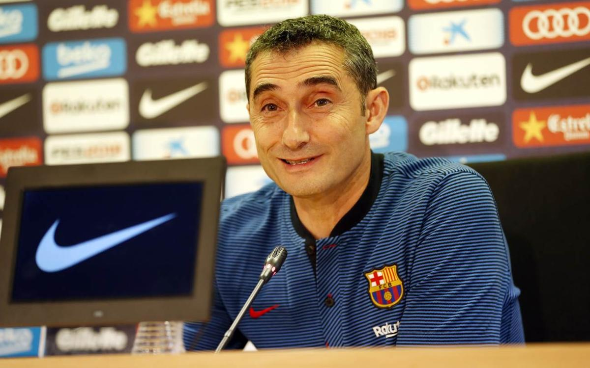 Ernesto Valverde: 'We want to win the title at Riazor'