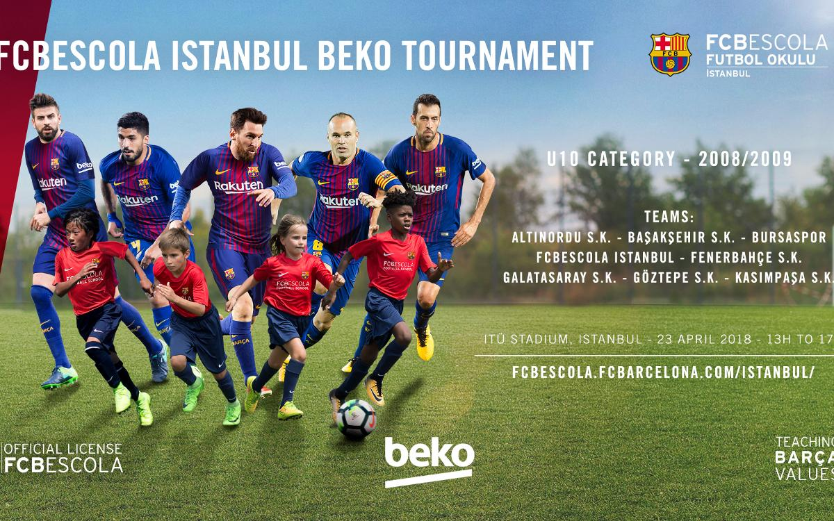 FCBEscola Istanbul Beko organises first tournament for top Turkish schools