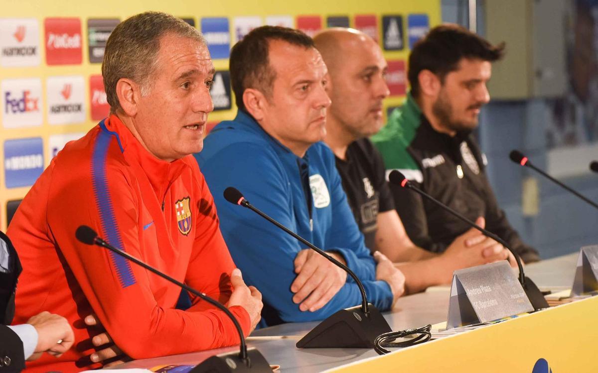 """Andreu Plaza: """"La Final Four arriba en el moment adequat"""""""