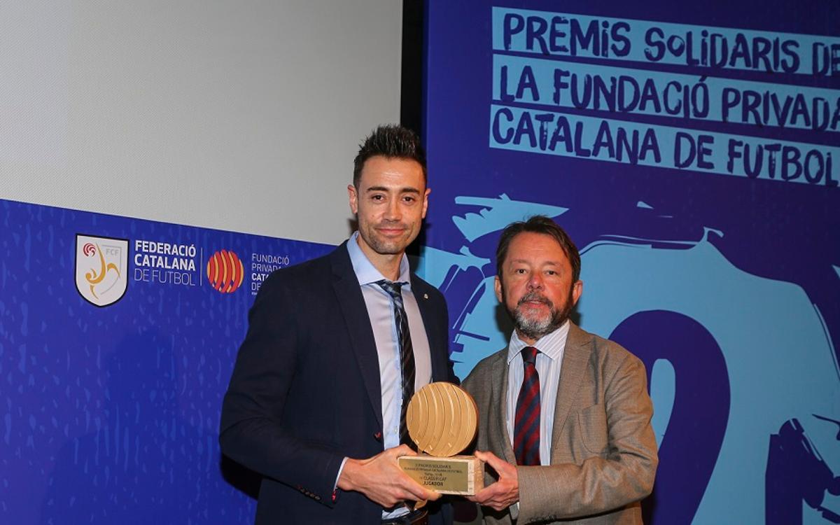 La FCF premia Paco Sedano por sus valores solidarios