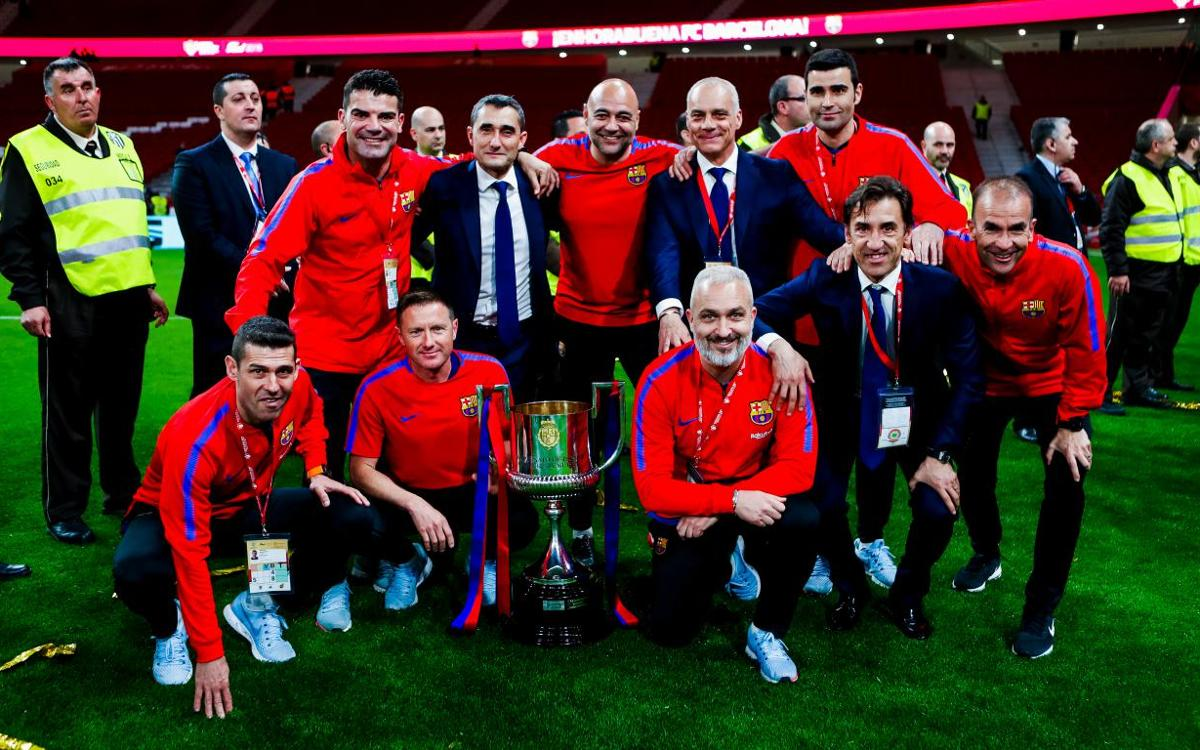Ernesto Valverde's fourth cup win
