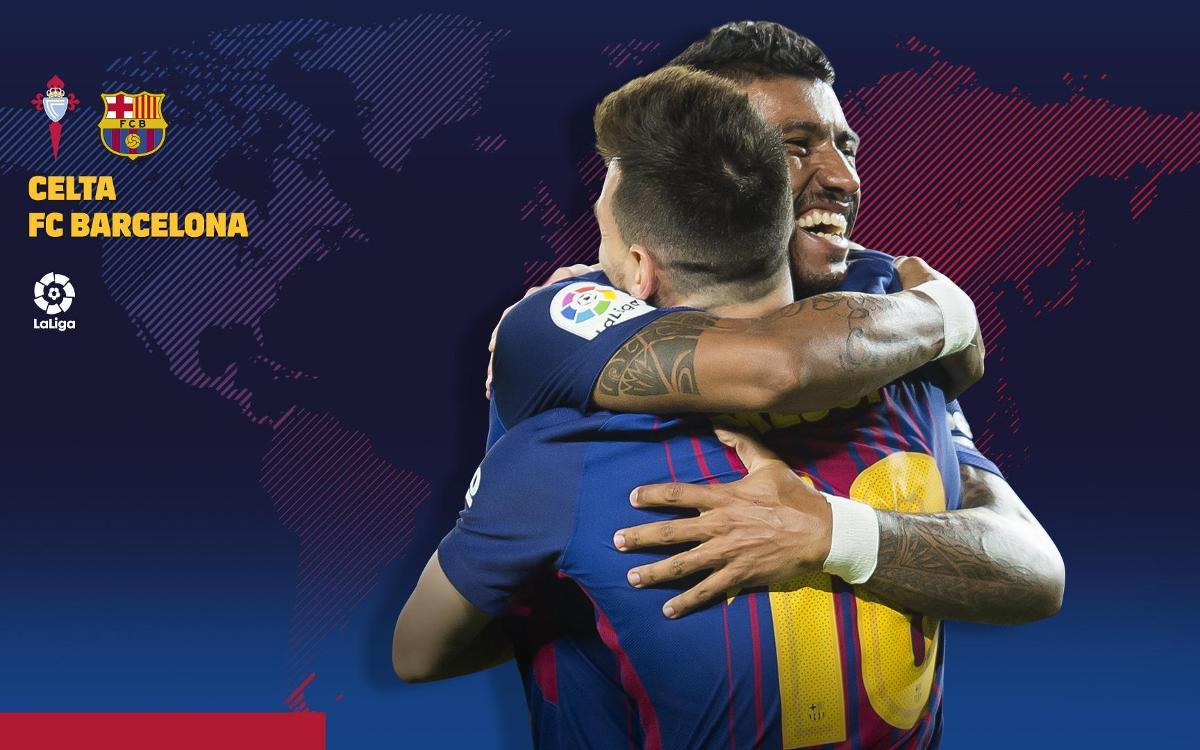 Cuándo y dónde se puede ver el Celta - FC Barcelona
