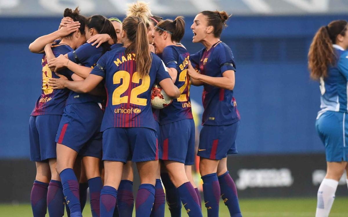 Espanyol – Barça Women: Three important points in the derby (1-3)