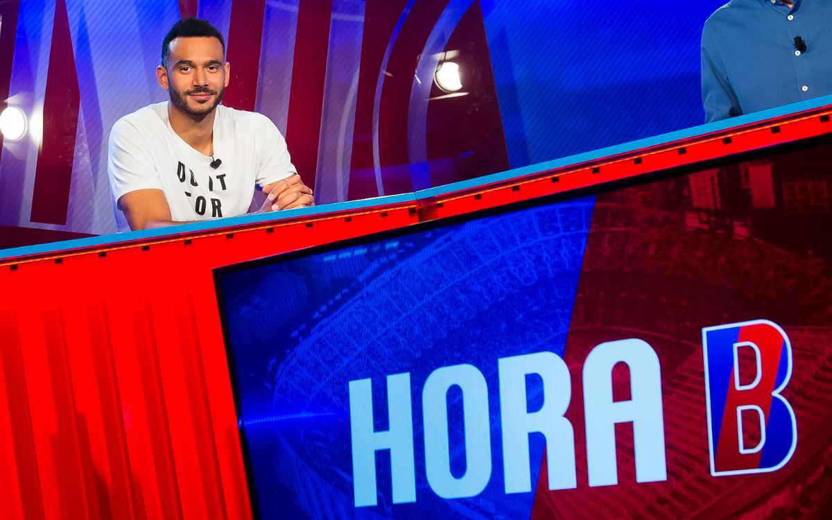 """Adam Hanga: """"Estem al Barça per guanyar títols"""""""