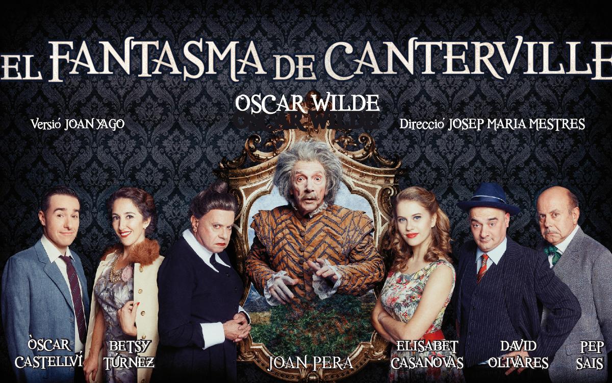 'El Fantasma de Canterville', en el Teatre Condal con descuento para los socios
