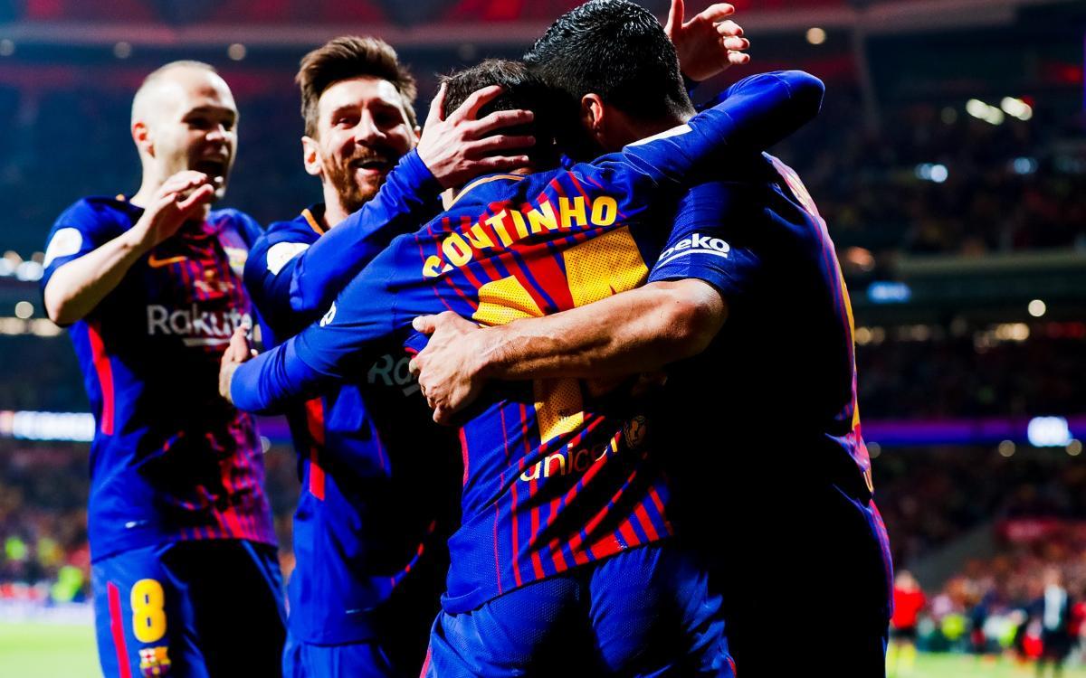 セビージャ– FC バルセロナ:リサイタルで国王杯王者(0-5)!