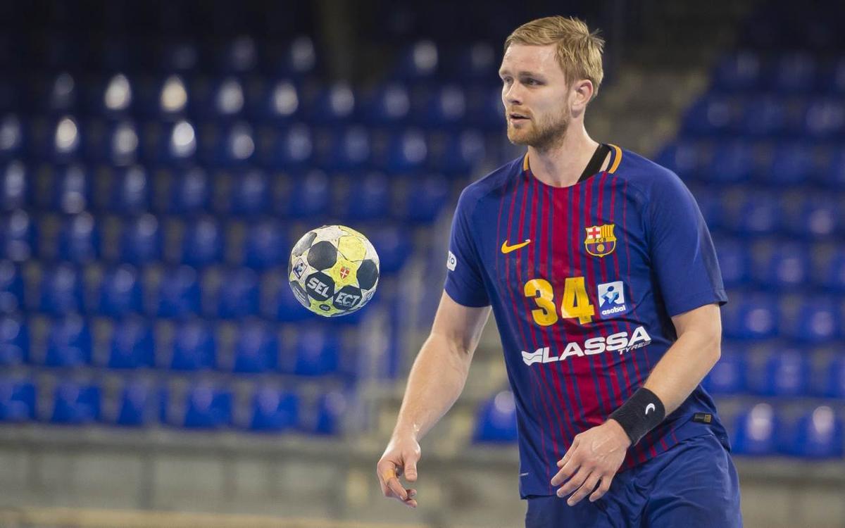 Aron Pálmarsson será baja para los próximos partidos