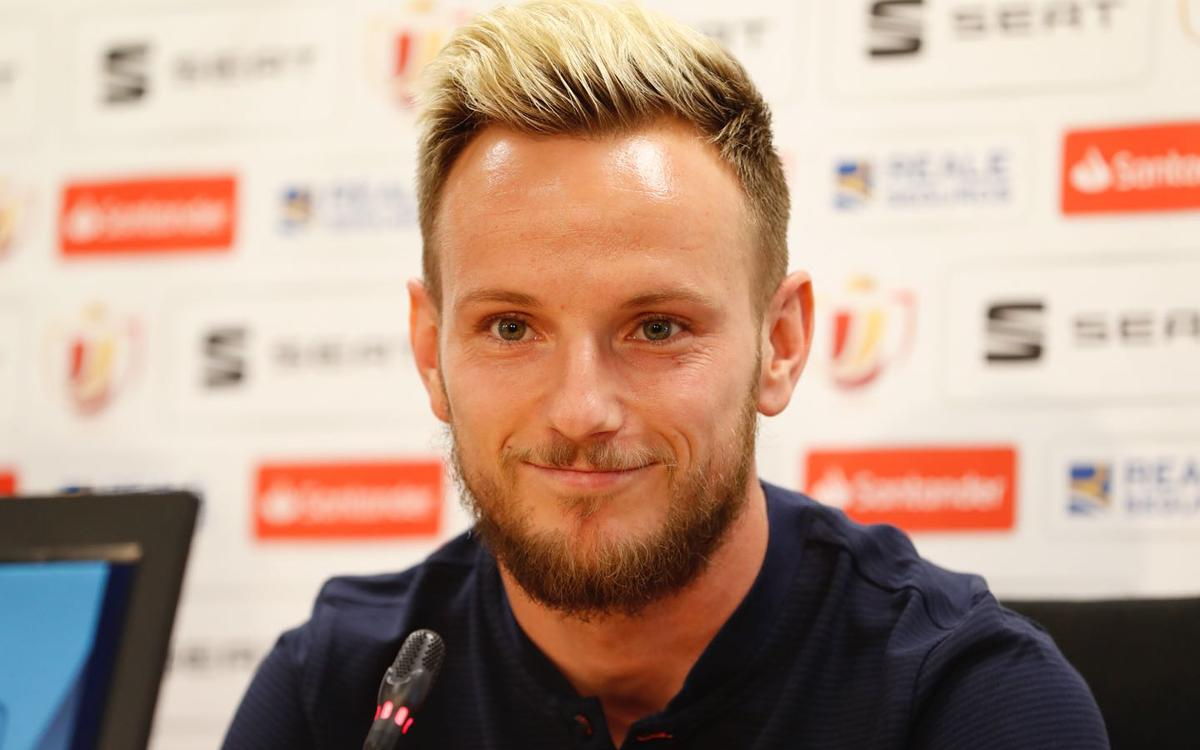 Ivan Rakitic: I had a quick operation to be back for the final
