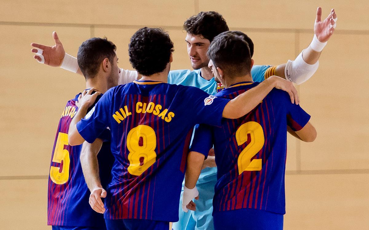 El Barça Lassa B, equip més esportiu de la 2a División de la LNFS