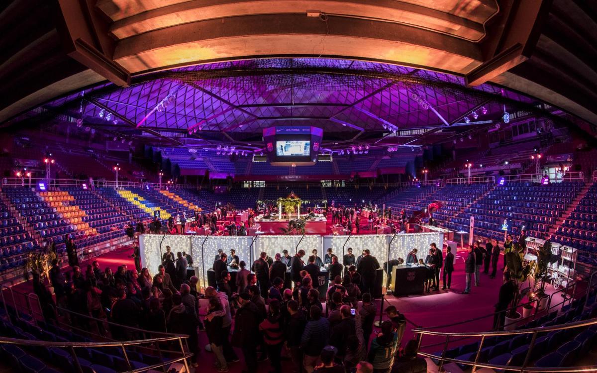 El Palau Blaugrana, un espacio idóneo para realizar eventos