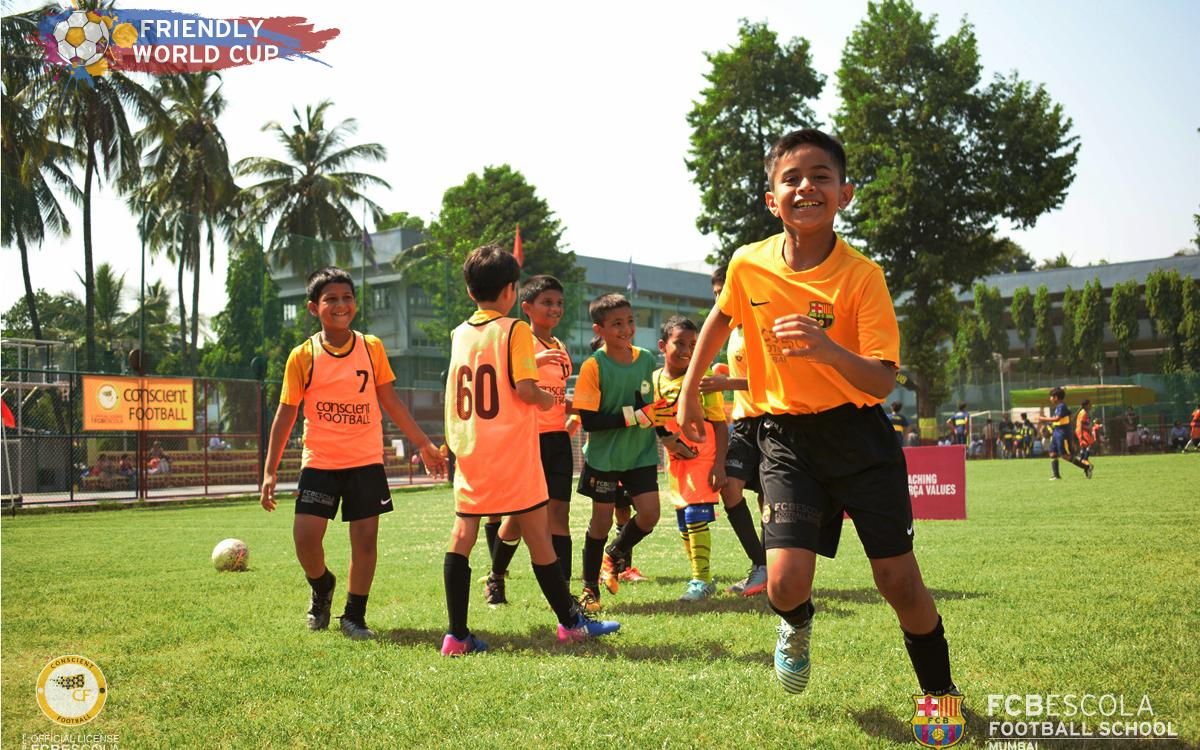 FCBEscola Mumbai successfully organizes first Friendly World Cup