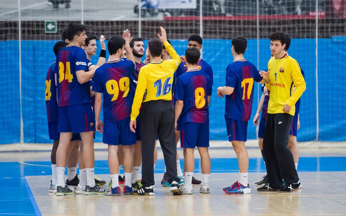 El Juvenil del balonmano, clasificado para el Campeonato de España