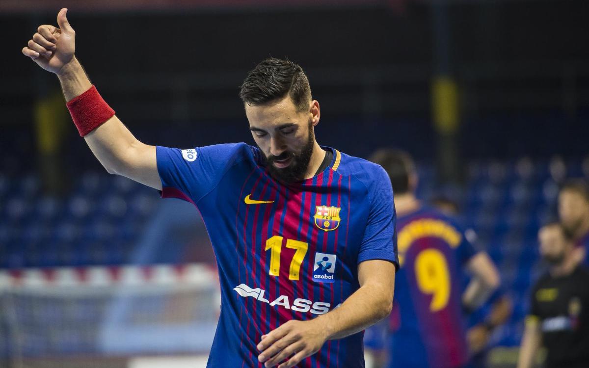 MATCH REPORT: Barça Lassa easily beats Guadalajara at the Palau, 33-17