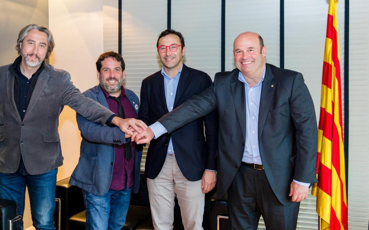 El FC Barcelona y la Agencia Catalana de la Juventud impulsan una beca de preparación física deportiva
