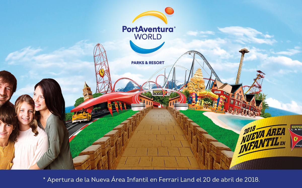 Importantes descuentos para disfrutar de PortAventura Park y de Ferrari Land