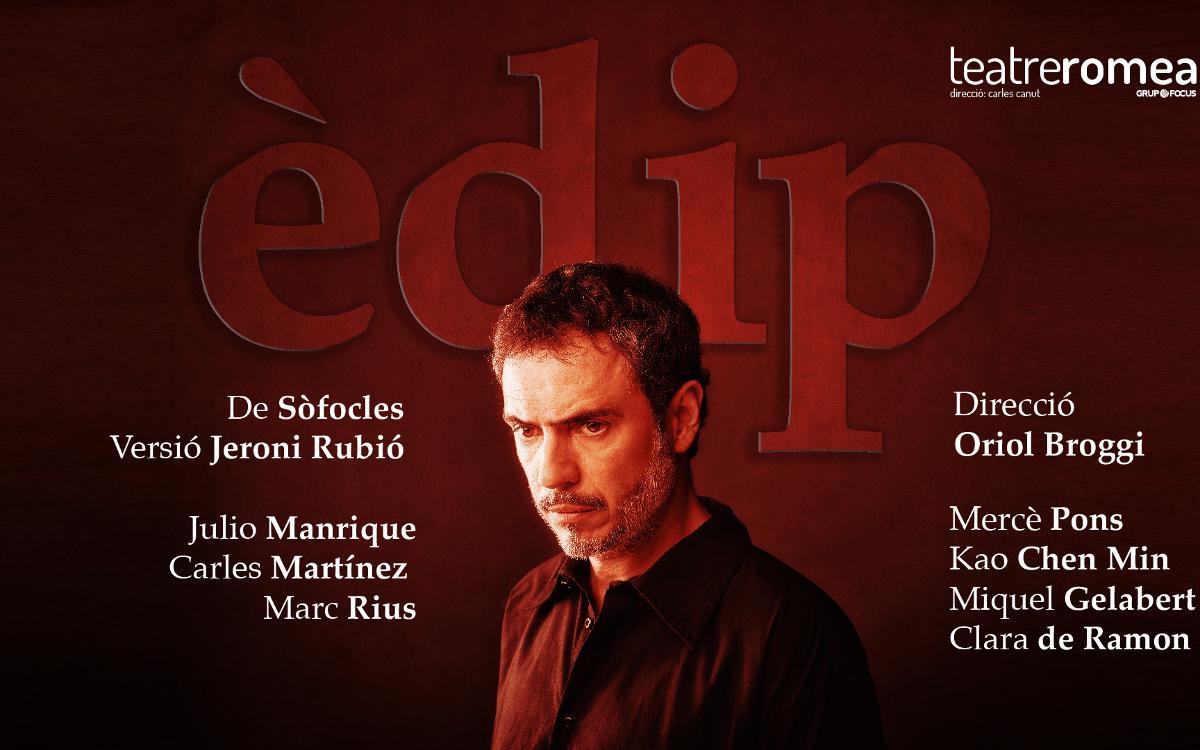 'Èdip' en el Teatre Romea con descuento para socios