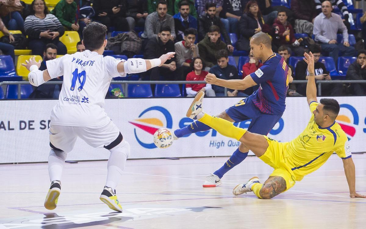 Despedida de la liga regular en Gran Canaria