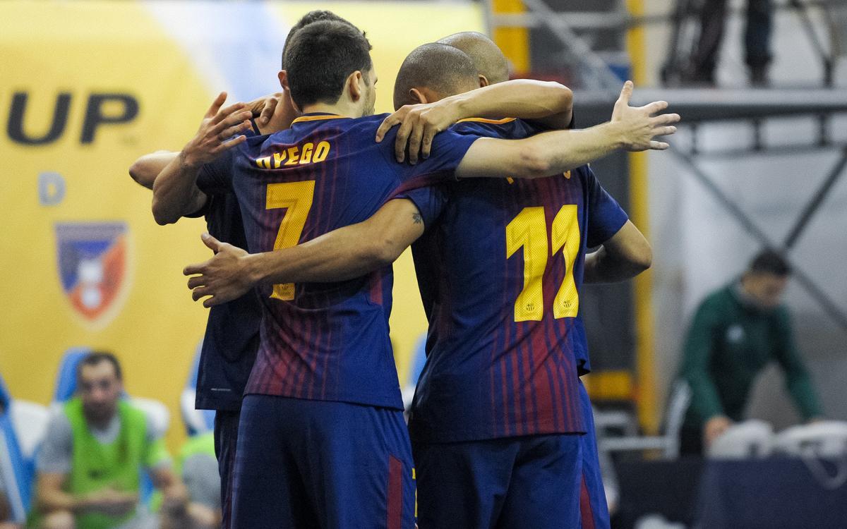 El camino del FC Barcelona Lassa hacia la Final Four de Zaragoza