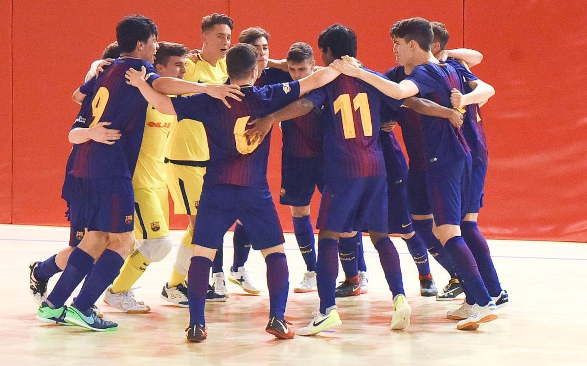 El Cadet i el Juvenil a la final de la Copa Catalunya de futbol sala