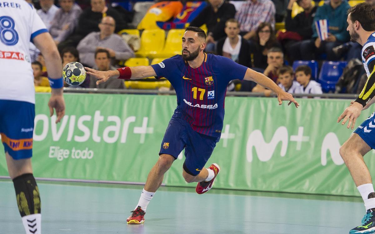 Barça Lassa – Fraikin BM Granollers: Final d'una ratxa històrica (28-29)