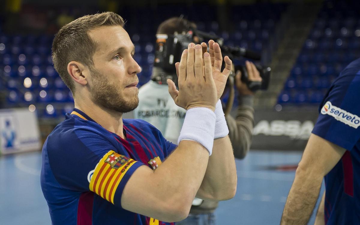 """Víctor Tomàs: """"Ens aixecarem per guanyar la Copa del Rei"""""""
