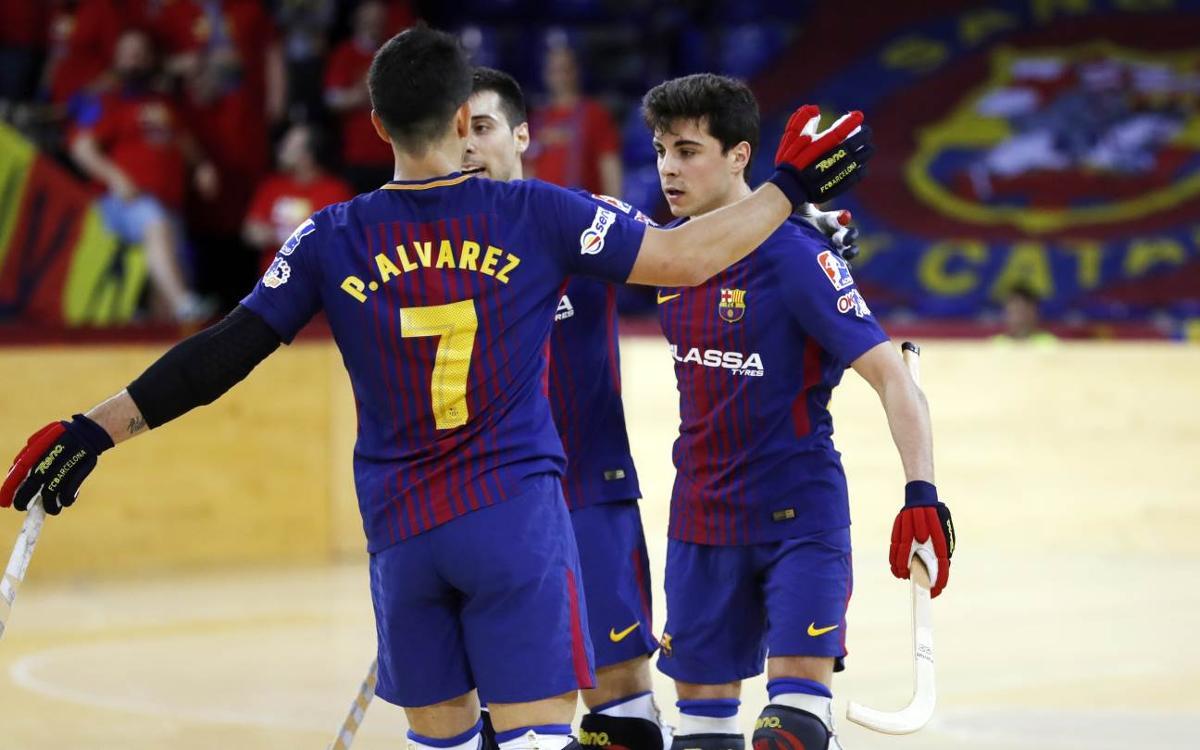 Barça Lassa – Lloret: ¡El camino hacia la OK Liga sigue en el Palau!