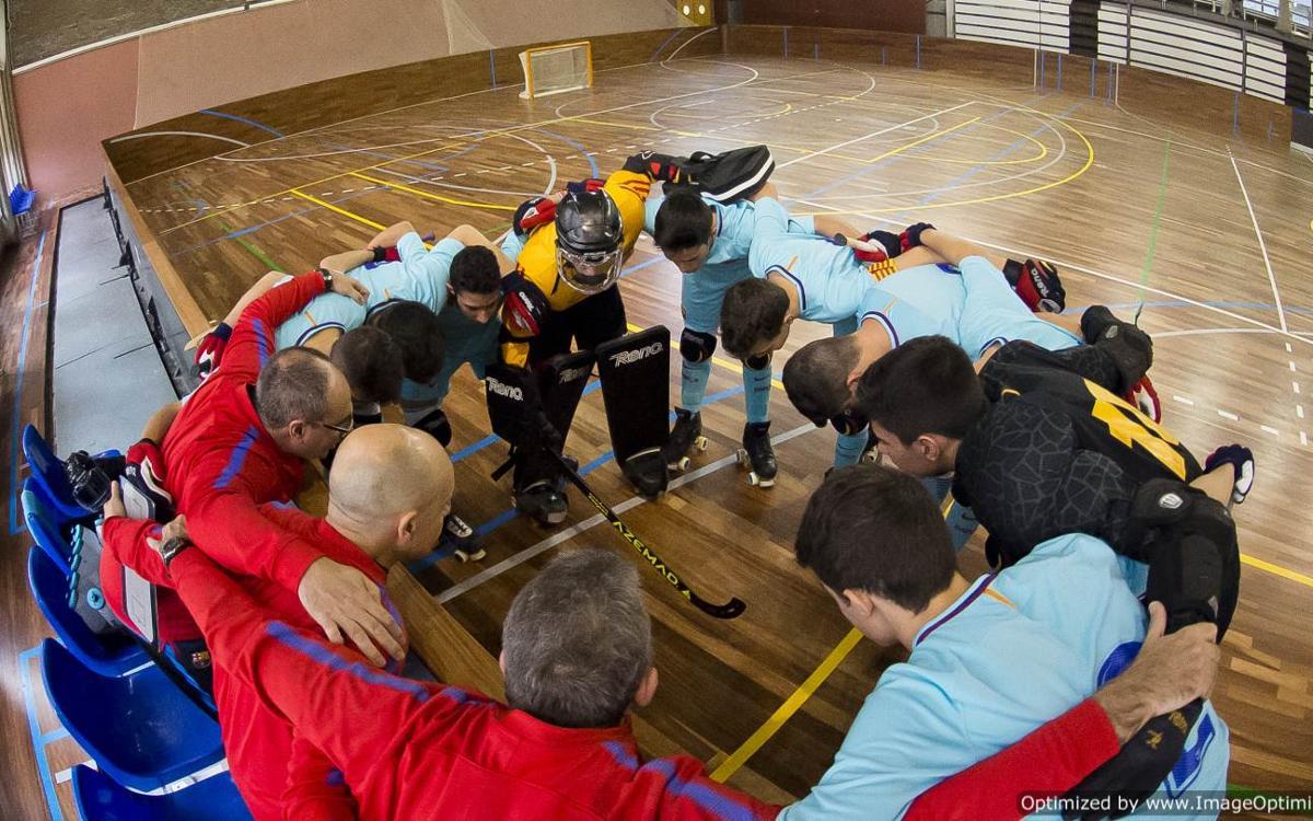 Arrancan los campeonatos de Cataluña de hockey patines formativo