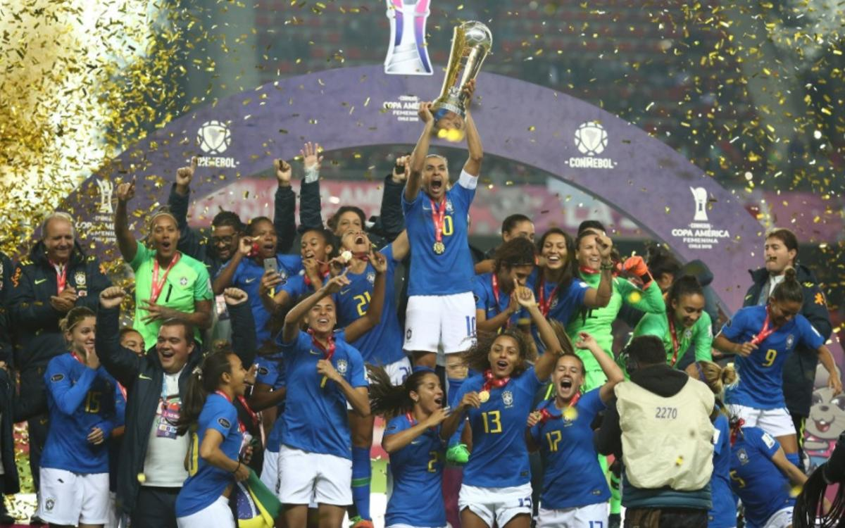 FC Barcelona's Andressa Alves wins 2018 Copa América Femenina with Brazil